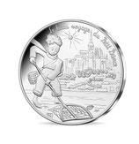 10 euros argent Petit prince à la pêche au Mont-Saint-Michel 2016