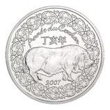 1/4 euro argent Année du cochon 2007