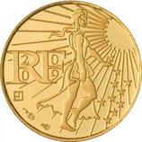 100 euros Semeuse en marche 2009 en or