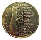 Médaille Bretagne dorée 2018