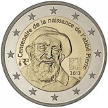 2 euros Abbé Pierre 2012