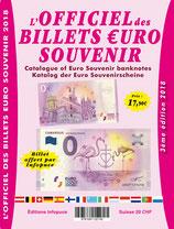 L'Officiel des Billets €uro Souvenir par Jean-Luc Gosse - 3ème édition Infopuce