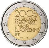 2 euros Présidence Française UE - 2008