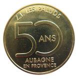 Médaille Aubagne ZI Les Paluds dorée 2018