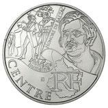 10 euros argent Centre 2012