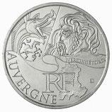 10 euros argent Auvergne 2012