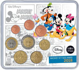 Mini-set BU euro - Mickey et ses amis - 2018