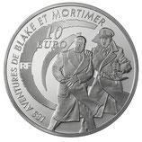 10 euros argent Blake & Mortimer 2010