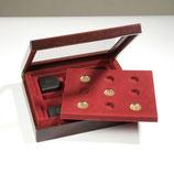 Coffret Numismatique VOLTERRA DUO, pour 9 pìeces allemandes de 100 euros en or
