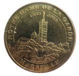 Médaille MDP Marseille Notre Dame de la Garde 1853-2003 2005