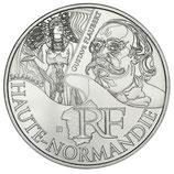 10 euros argent Haute-Normandie 2012