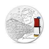 10 euros argent Europa Epoque contemporaine 2016