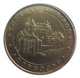 Médaille MDP Dordogne Château de Biron 2006