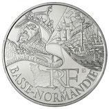 10 euros argent Basse-Normandie 2012