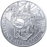 10 euros argent Provence-Alpes-Côte d'Azur 2011