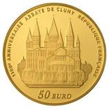 50 euros Europa 2010 en or 1/4 oz