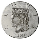 10 euros argent Clovis 2011