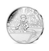 10 euros argent Petit prince visite Notre-Dame 2016