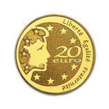 20 euros Semeuse 2004 en or 1/2 oz