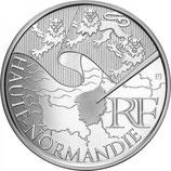 10 euros argent Haute-Normandie 2010