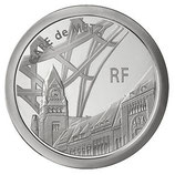 10 euros argent Metz TGV ICE 2011