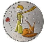Médaille Petit prince colorisée