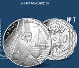 10 euros argent La Bretagne Breizh 2017