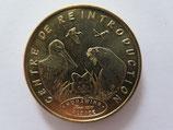 Médaille MDP Hunawihr. Centre de réintroduction. Since 1976 2009