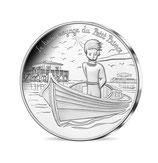 10 euros argent Petit prince navigue sur une pinasse 2016