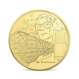 5 euros Europa 0,5 g. or Epoque contemporaine 2016