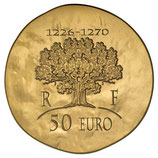 50 euros Saint Louis 2012 en or 1/4 oz