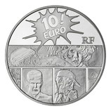 10 euros argent XIII 2011