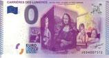 Billet touristique 0€ Carrières des lumières 2015