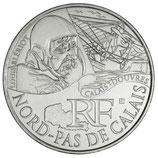 10 euros argent Nord-Pas-de-Calais 2012