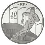 10 euros argent Racing metro 92 2011