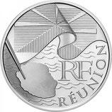 10 euros argent Réunion 2010