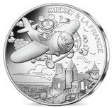 10 euros argent Mickey Survol de l'Occitanie 2018 12/20