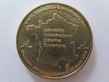 Médaille MDP  Conde-sur-l'Escaut. La carte de France. Association collectionneurs médailles touristiques 2010