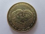 Médaille MDP Kintzheim. La montagne des singes. Les deux singes 2008