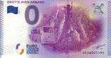 Billet touristique 0€ Grotte Aven Armand 2015