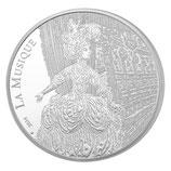 """10 euros argent Jean-Philippe Rameau """"La musique"""" BE 2014"""