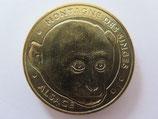 Médaille MDP Kintzheim. Montagne des singes. La tête de macaque 2012