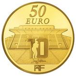 50 euros Rugby club toulonnais RCT 2012 en or 1/4 oz