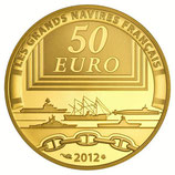 50 euros La Jeanne d'Arc 2012 en or 1/4 oz