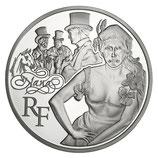 10 euros argent Nana 2011