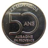 Médaille Aubagne ZI Les Paluds argentée 2018