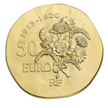 50 euros Raymond Poincaré 2015 en or 1/4 oz