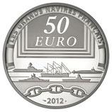 50 euros argent 5 onces La Jeanne d'Arc 2012