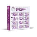 """Album imprimé pour billets """"euro souvenir"""" tome 2"""