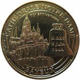 Médaille MDP Bayeux Cathédrale Notre-Dame Bayeux 2014